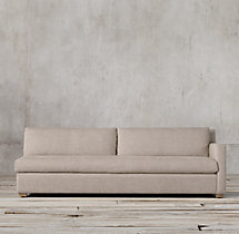 Belgian Track Arm Upholstered Right-Arm Sofa
