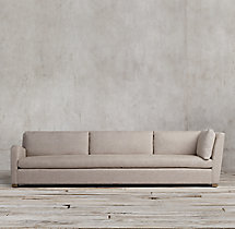 Belgian Slope Arm Upholstered Left-Arm Return Sofa
