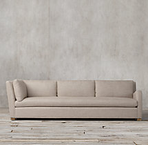 Belgian Slope Arm Upholstered Right-Arm Return Sofa