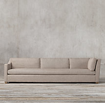 Belgian Classic Slope Arm Upholstered Left-Arm Return Sofa
