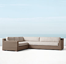 Biscayne Classic Left/RIght Arm L-Sectional Cushions