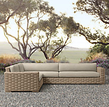 Rutherford Left/Right-Arm L-Sectional Cushions