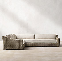 Provence Classic Left/Right-Arm L-Sectional Cushions