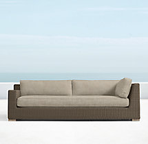 Biscayne Classic Three-Seat Left-Arm Return Sofa