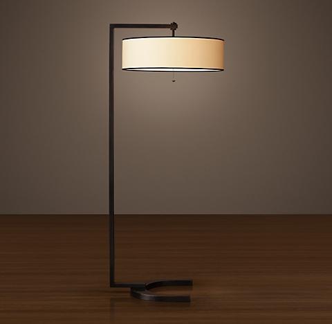 Floor lighting rh hudson floor lamp aloadofball Choice Image