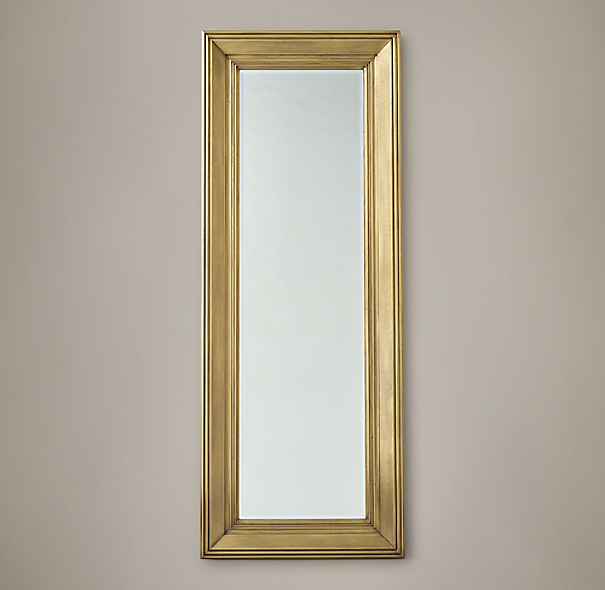 18th c baroque leaner mirror for Baroque leaner mirror