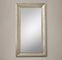 18th c baroque mirror for Baroque leaner mirror