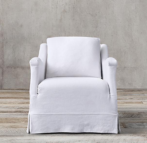 Prescot Slipcovered Chair