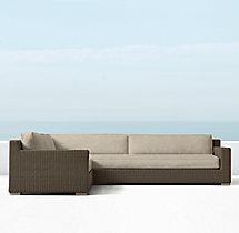 Biscayne Luxe Left/RIght Arm L-Sectional Cushions