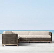 Malibu Left/Right-Arm L-Sectional Cushions