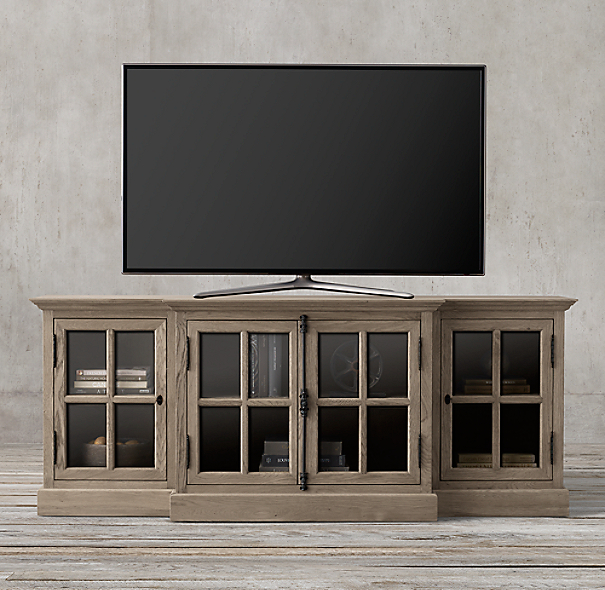 French Casement 80 Quot Media Console