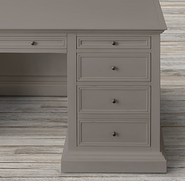 French Panel Desk