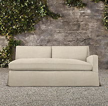Belgian Slope Arm Outdoor Right-Arm Sofa