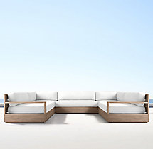 Marbella U-Sofa Sectional Cushions