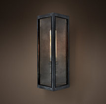 Denton Glass Short Sconce