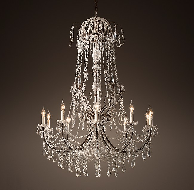 19th c baroque chandelier 45 aloadofball Image collections