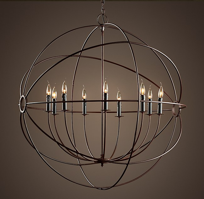 Orb chandelier 41 foucaults orb chandelier 41 mozeypictures Images