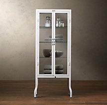 pharmacy large bath cabinet white 28 w x 18 d x 64 h