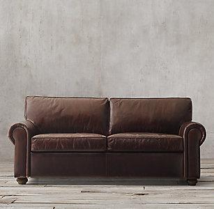 Original Lancaster Leather Sofas Clic Luxe Rh