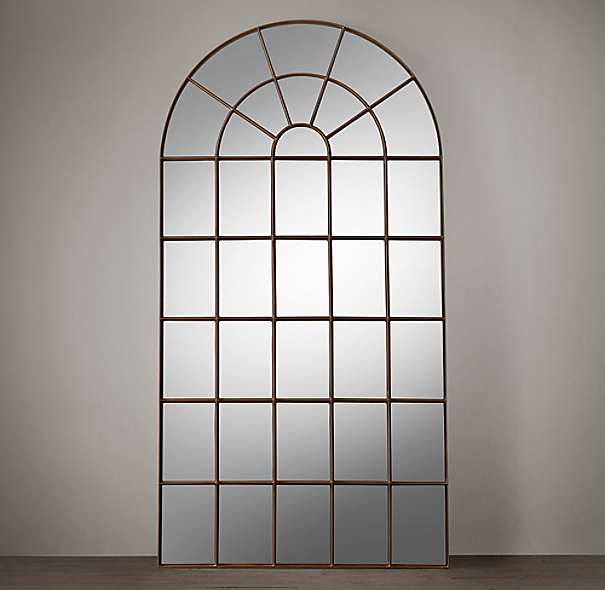 Palladian Leaner Mirror