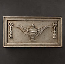 Architectural Plaster Fragments - Urn