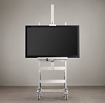 TV Easel - Polished-Nickel
