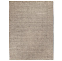 Distressed Wool Rug - Grey