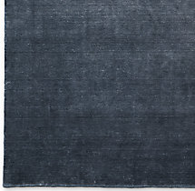 Heathered Wool Rug Swatch - Charcoal