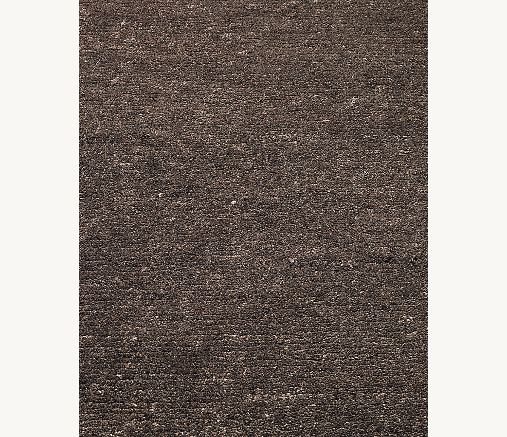 Pura Heathered Rug - Chocolate