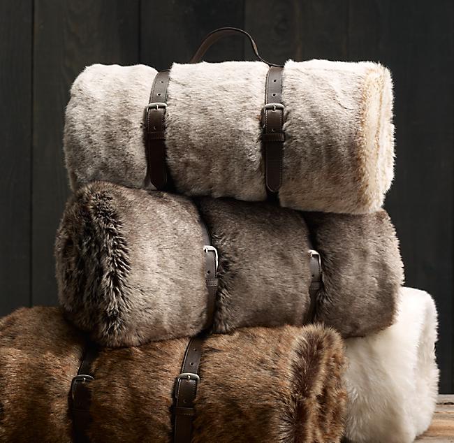 Luxe Faux Fur Throw. COLOR PREVIEW UNAVAILABLE. Alternate view 1 Alternate  view 2 Alternate view 3 ... e23fa3483e4da