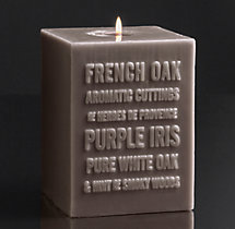 French Oak Pillar Candle
