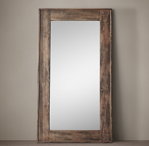 salvaged boat wood mirrors - Mirror Wood Frame