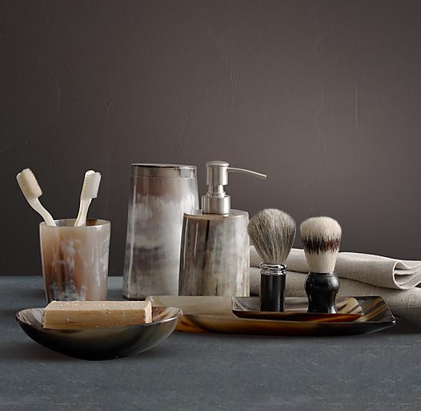 Horn Bath Accessories