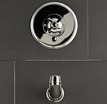 Grafton Balance-Pressure Tub and Shower Valve & Trim Set (Backplate; Spout)
