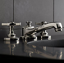 "Grafton Cross-Handle 8"" Widespread Faucet Set"