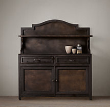 19th C. Swedish Brasserie Metal Sideboard