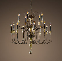 18th C. Bartolomeo Chandelier 39""