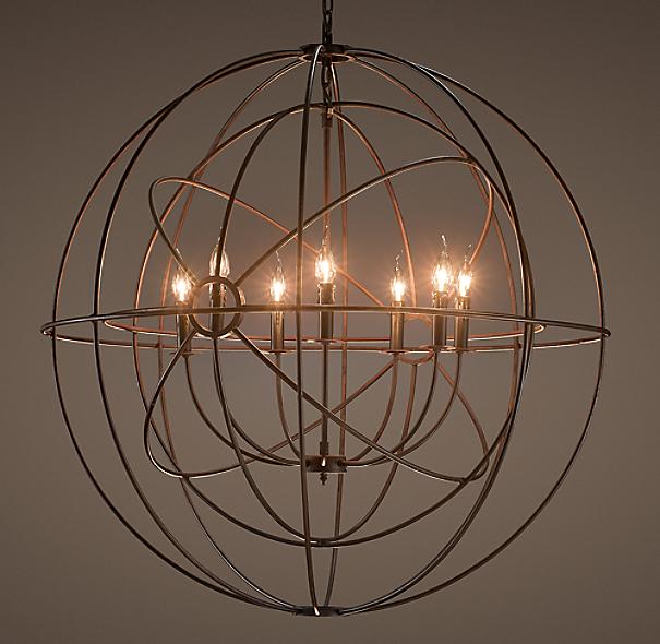 foucault 39 s twin orb chandelier 41