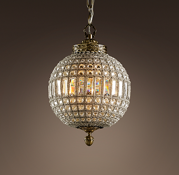19th C Casbah Crystal Chandelier 12 Quot