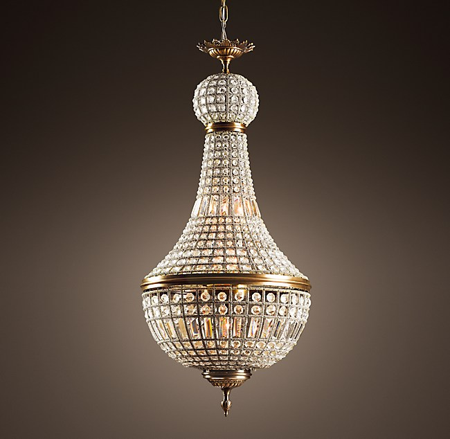 C french empire crystal chandelier 21 19th c french empire crystal chandelier 21 aloadofball Choice Image
