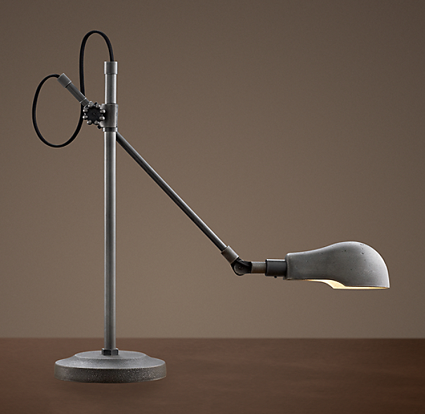 1900s pharmacy table lamp - Restoration hardware lamps table ...