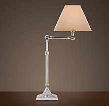 20th C. Parisian Telescoping Table Lamp