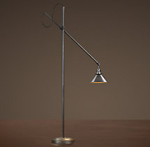 1900s Machinist Task Floor Lamp