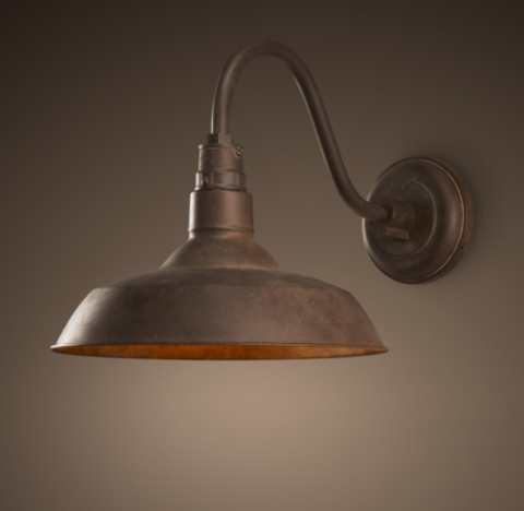 Wall Sconce Lighting Images : Vintage Barn Sconce