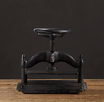 Cast Iron Book Press