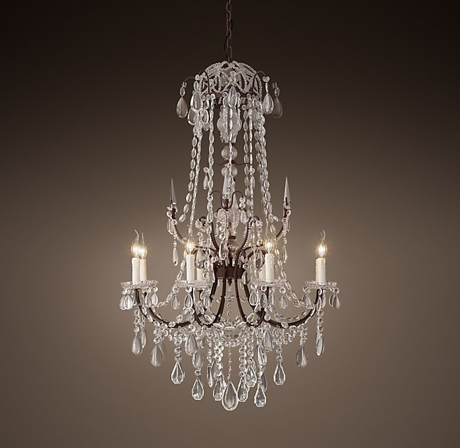 C baroque chandelier 32 19th c baroque chandelier 32 aloadofball Images