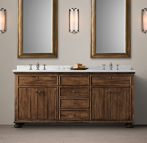 French Empire Bath Collection - Antiqued Coffee | RH