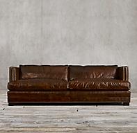 8 Easton Leather Sofa