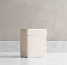 Crema Marble Canister