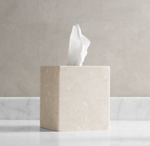 Crema Marble  Tissue Cover